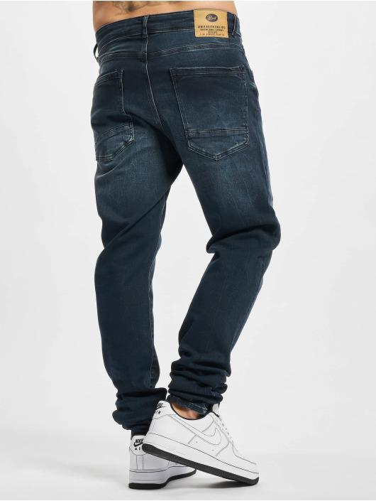Petrol Industries dżinsy przylegające Denim Jogger Slim Fit niebieski