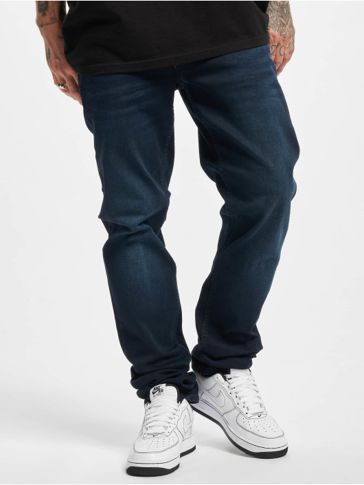 Petrol Industries Dżinsy straight fit Southpole Basic Sweat Pants niebieski