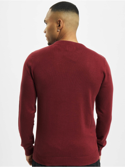 Petrol Industries Gensre R-Neck Knit red