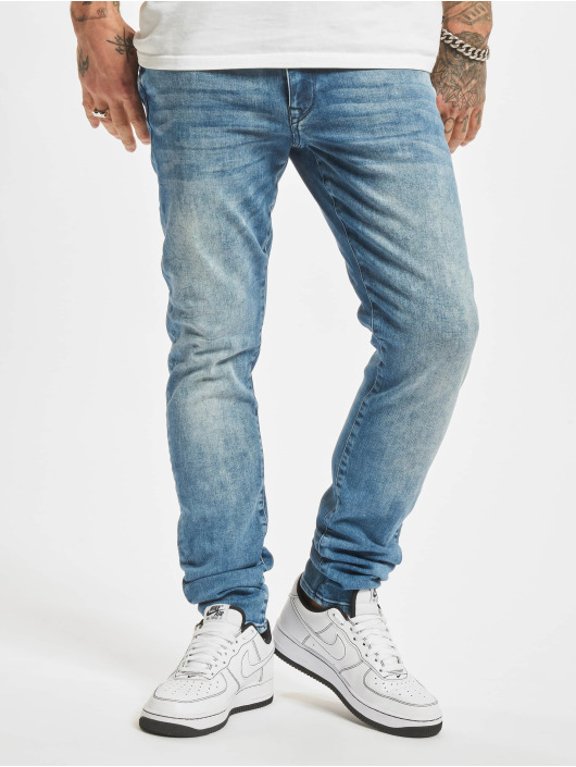 Petrol Industries Jeans ajustado Denim Jogger azul