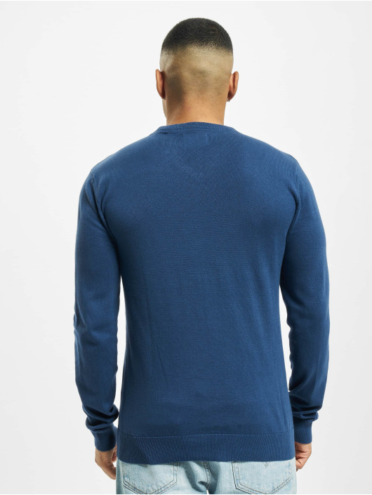 Petrol Industries Pullover V-Neck Knit blau