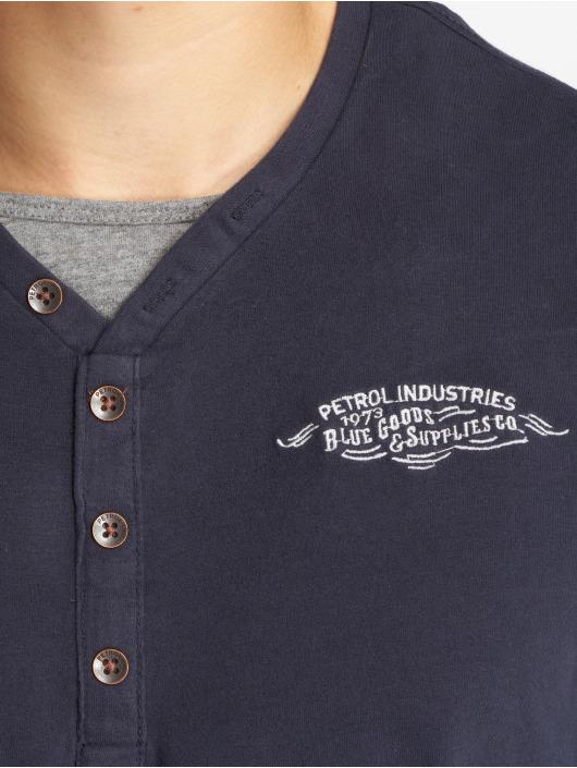 Petrol Industries Pullover Crazzytu blue