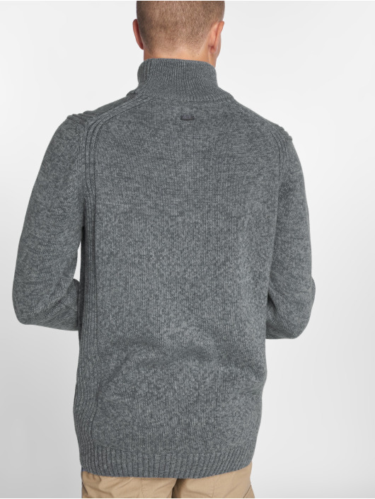 Petrol Industries Pullover Collar gray