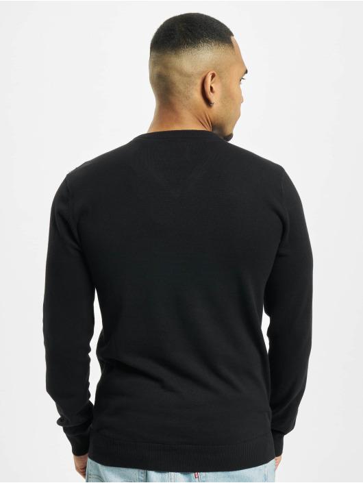 Petrol Industries Pullover V-Neck Knit schwarz