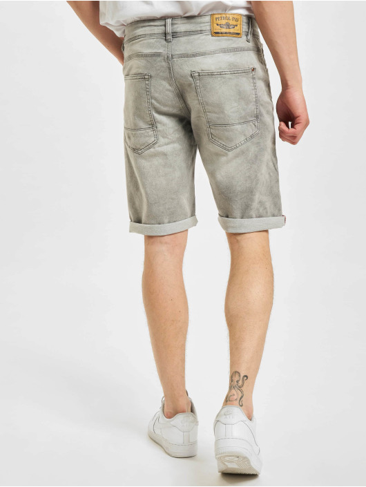 Petrol Industries Short Jackson silver colored