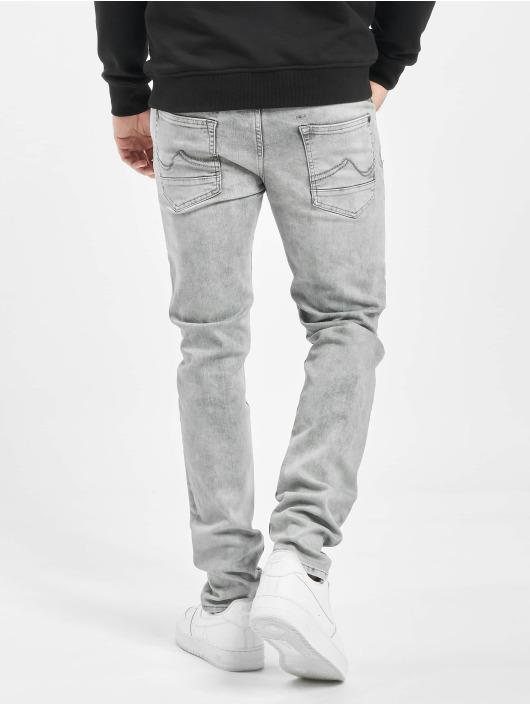Petrol Industries Slim Fit Jeans Seaham šedá