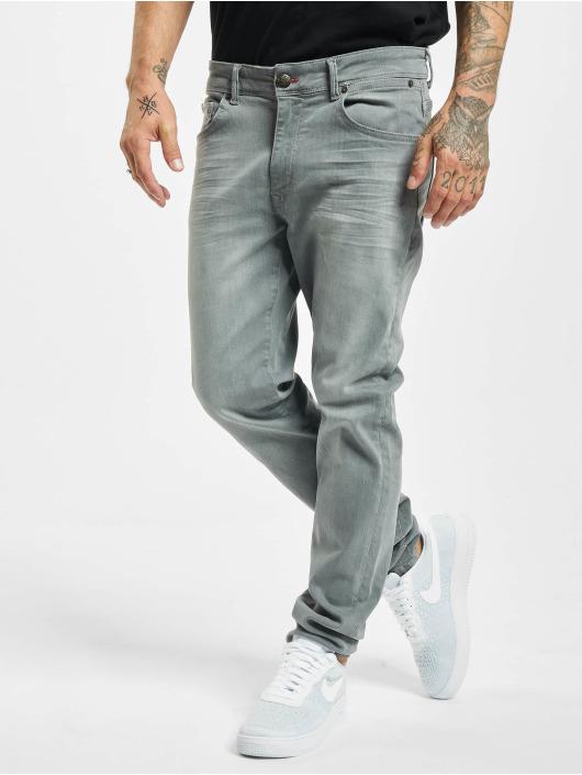 Petrol Industries Slim Fit Jeans Seaham Classic šedá
