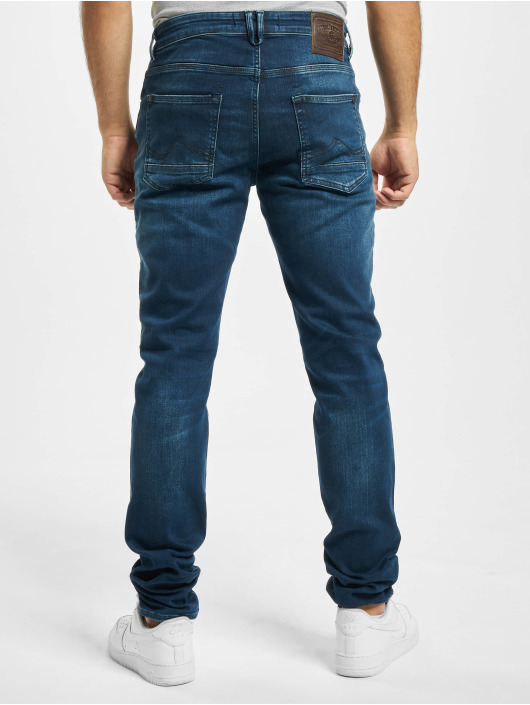 Petrol Industries Slim Fit Jeans Supreme Stretch blå