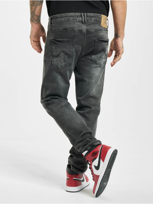 Petrol Industries Slim Fit Jeans Supreme Stretch grau