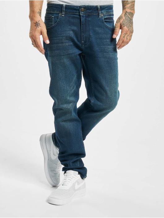 Petrol Industries Slim Fit Jeans Tapered modrá