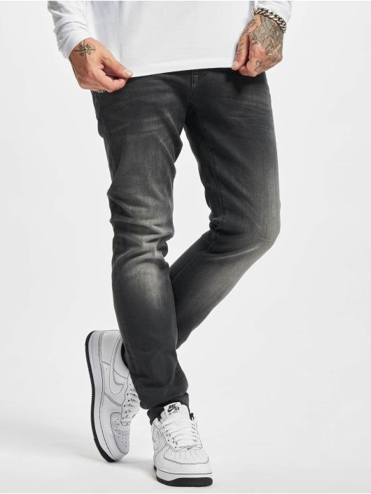 Petrol Industries Slim Fit Jeans Denim Jogger Slim Fit schwarz