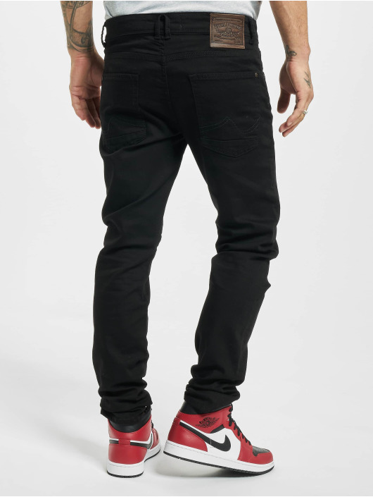Petrol Industries Slim Fit Jeans Seaham Classic svart