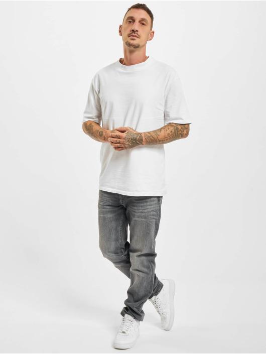 Petrol Industries Straight Fit Jeans Denim Tapered Regular Straight Fit šedá