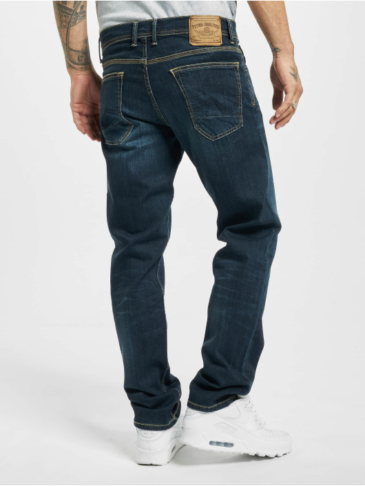 Petrol Industries Straight Fit Jeans Riley blå