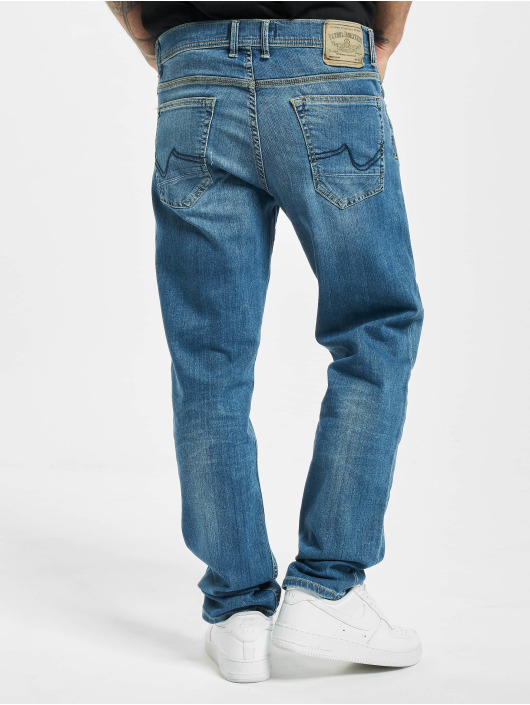 Petrol Industries Straight Fit Jeans Riley blå