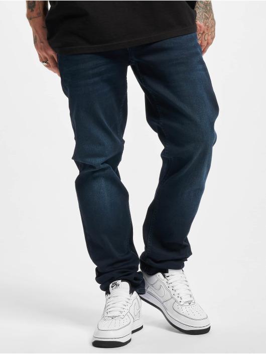 Petrol Industries Straight Fit Jeans Southpole Basic Sweat Pants blau