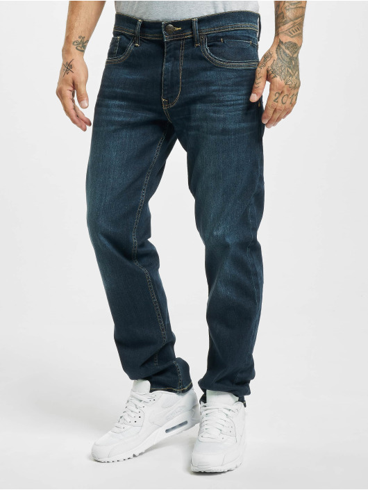 Petrol Industries Straight fit jeans Riley blauw