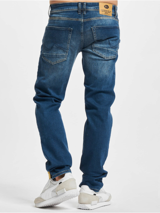 Petrol Industries Straight Fit Jeans Denim Tapered Regular blue
