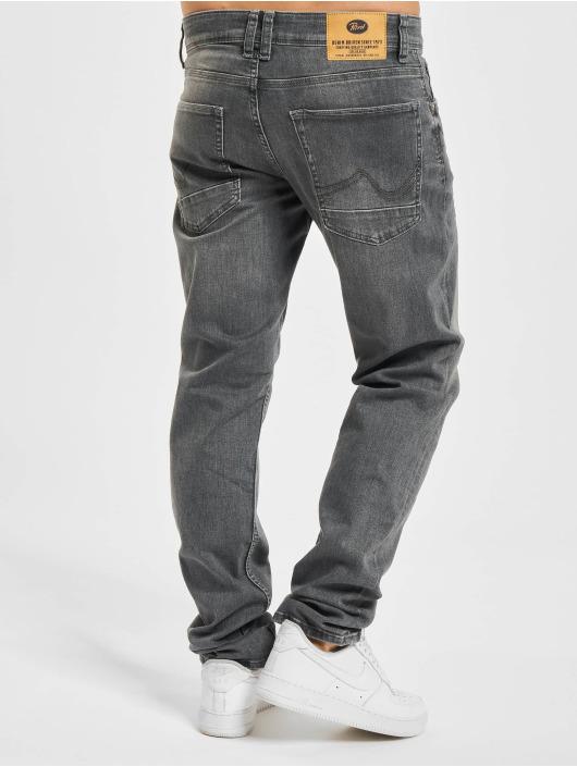 Petrol Industries Straight Fit Jeans Denim Tapered Regular Straight Fit grau