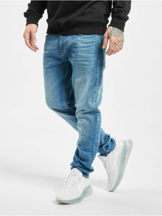 Petrol Industries Straight Fit Jeans Men Denim modrý