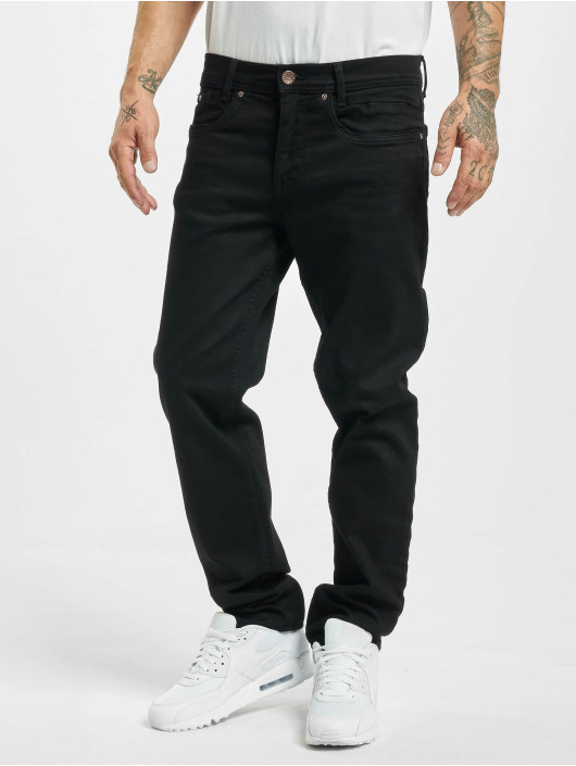 Petrol Industries Straight Fit Jeans Riley svart