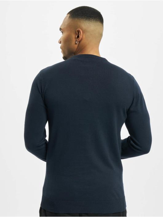 Petrol Industries Sweat & Pull V-Neck Knit bleu