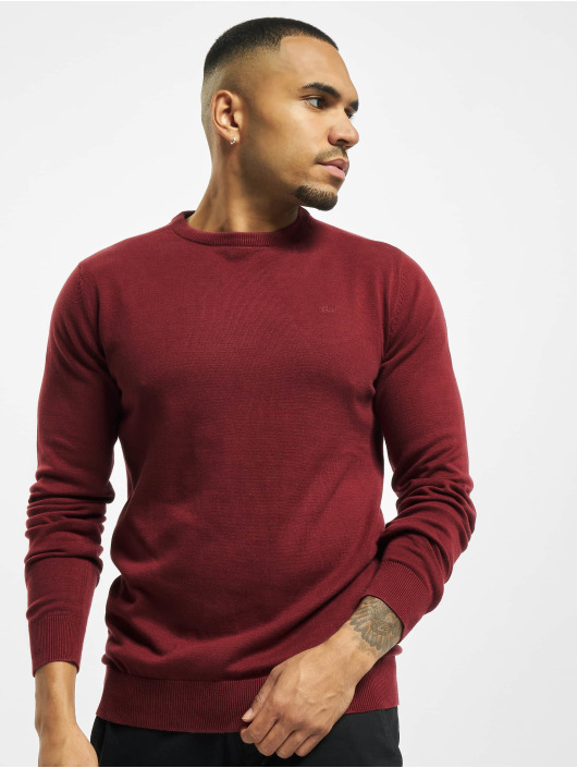 Petrol Industries Sweat & Pull R-Neck Knit rouge