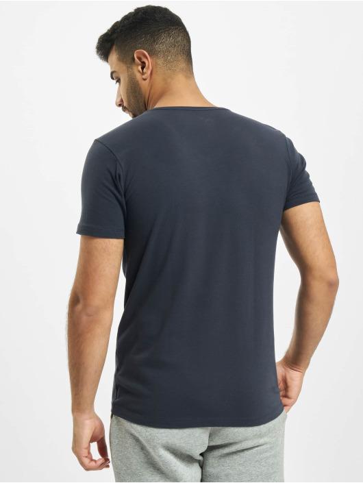 Petrol Industries t-shirt Basic V-Neck 2-Pack blauw