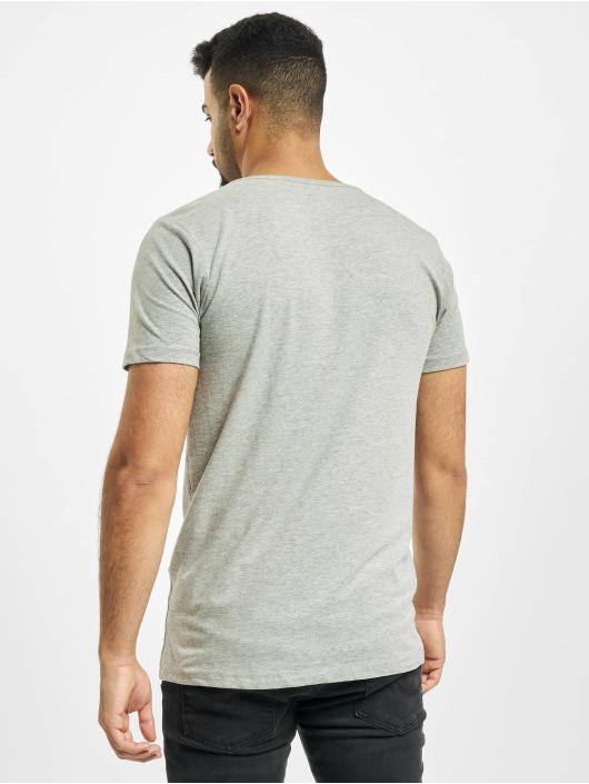 Petrol Industries T-Shirt Basic R-Neck 2-Pack grau
