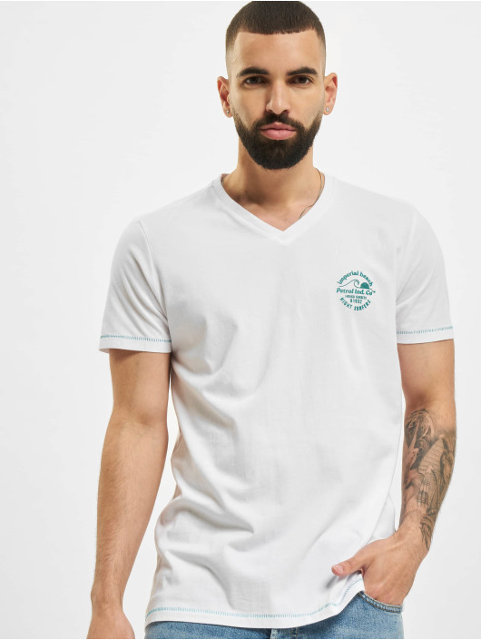 Petrol Industries T-Shirty Men bialy