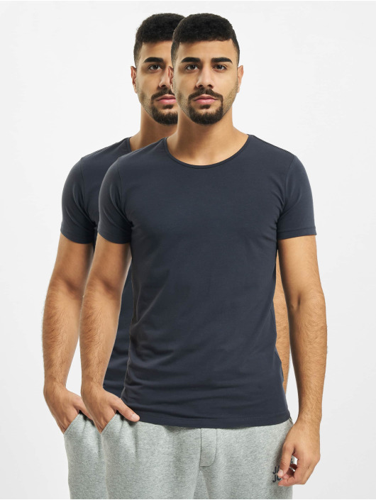 Petrol Industries T-Shirty Basic R-Neck 2-Pack niebieski