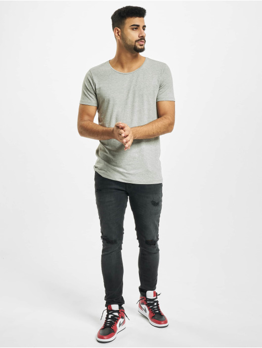 Petrol Industries T-Shirty Basic R-Neck 2-Pack szary