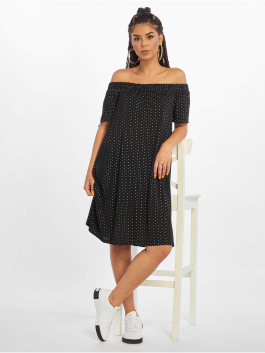 Pieces Šaty pcCayanna Off-Shoulder èierna