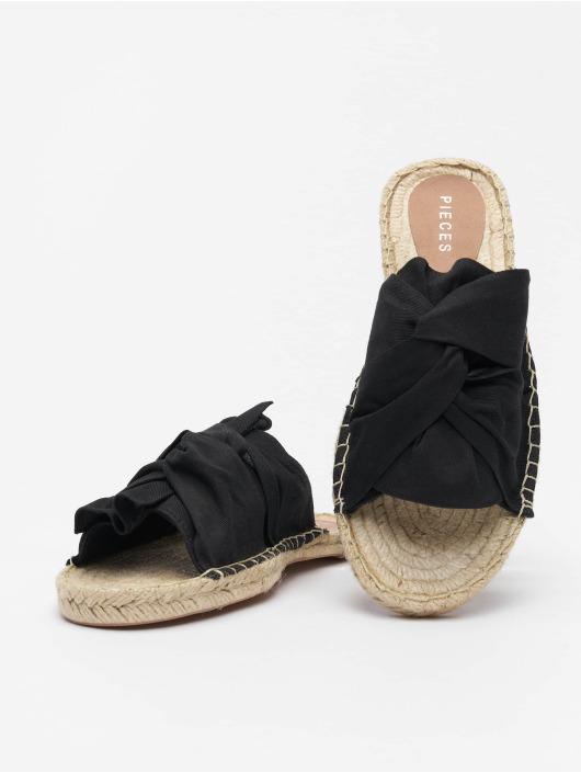 Pieces Badesko/sandaler psAlira svart