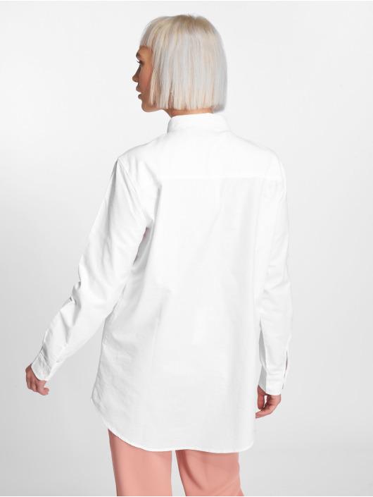 Pieces Blouse & Chemise pcmMari Oxford blanc