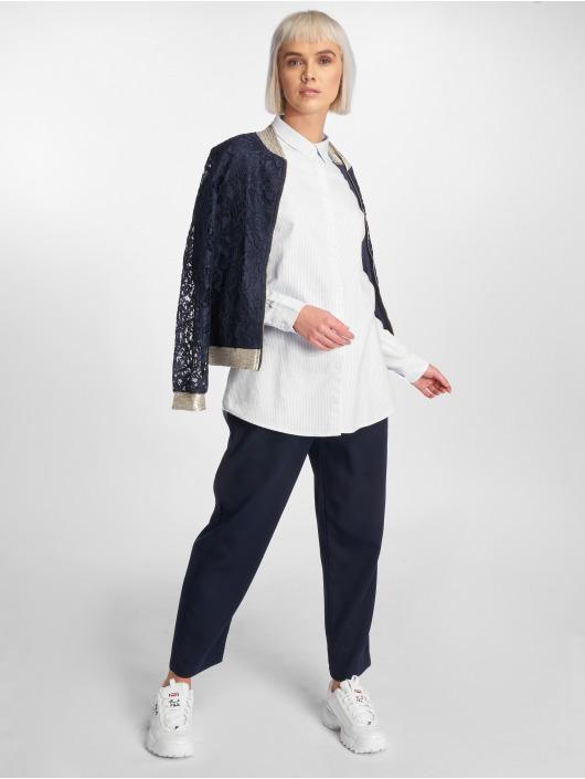 Pieces Blouse/Tunic pcmMari Oxford white