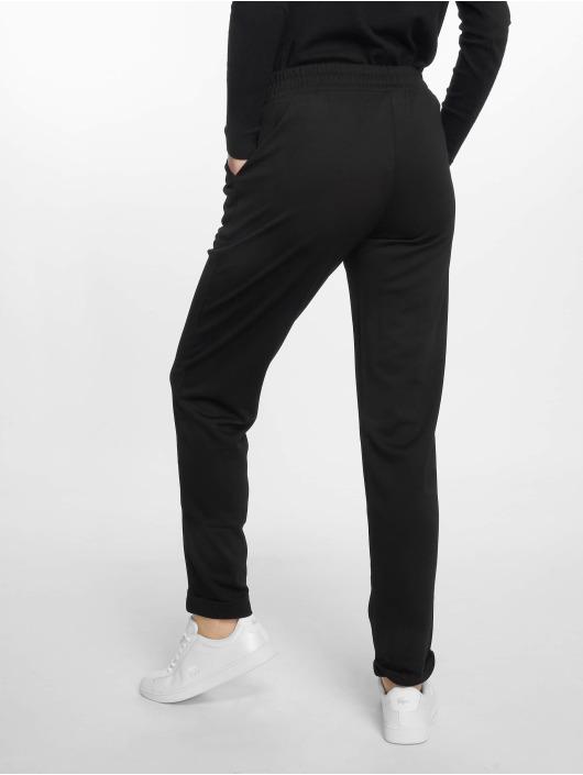 Pieces Chino pants pcTamy Mid Waist black