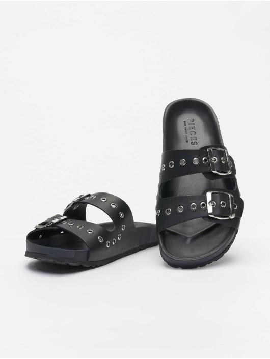 Pieces Claquettes & Sandales pcCaia noir