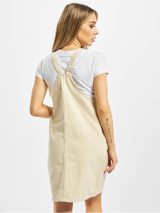 Pieces Dress pcAsli Colored Pinafore beige