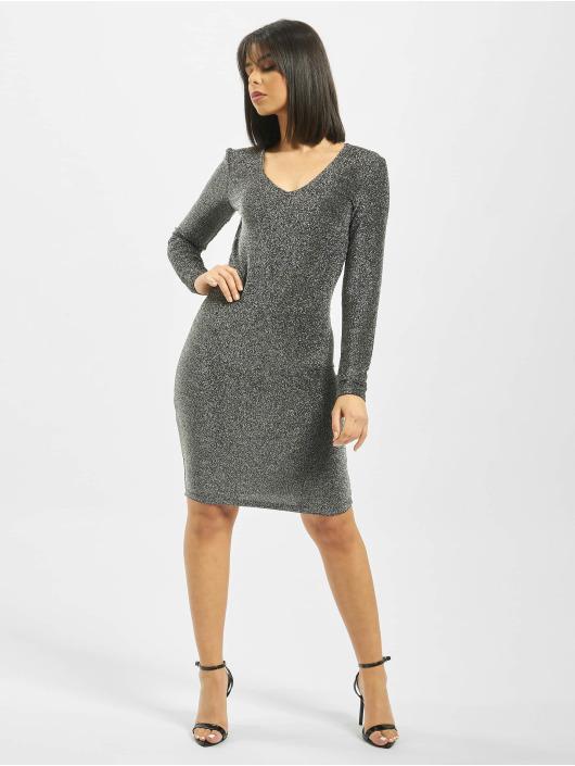 Pieces Dress pcJiza silver colored
