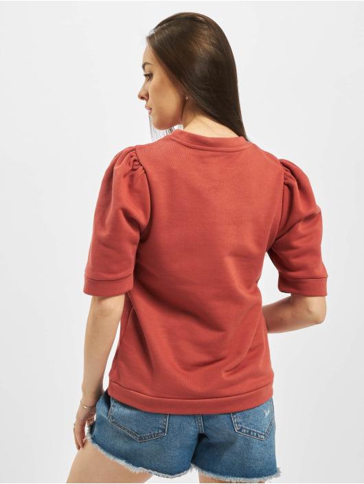 Pieces Hihattomat paidat pcMesa 2/4 punainen