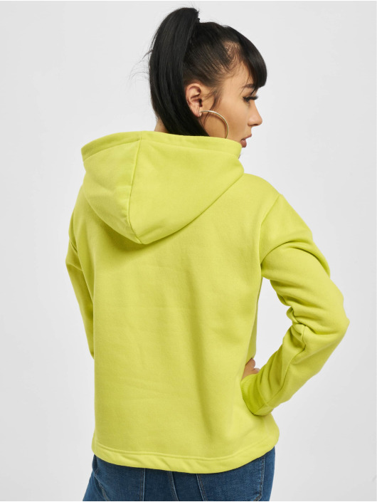 Pieces Hoodie pcIlma Cropped yellow