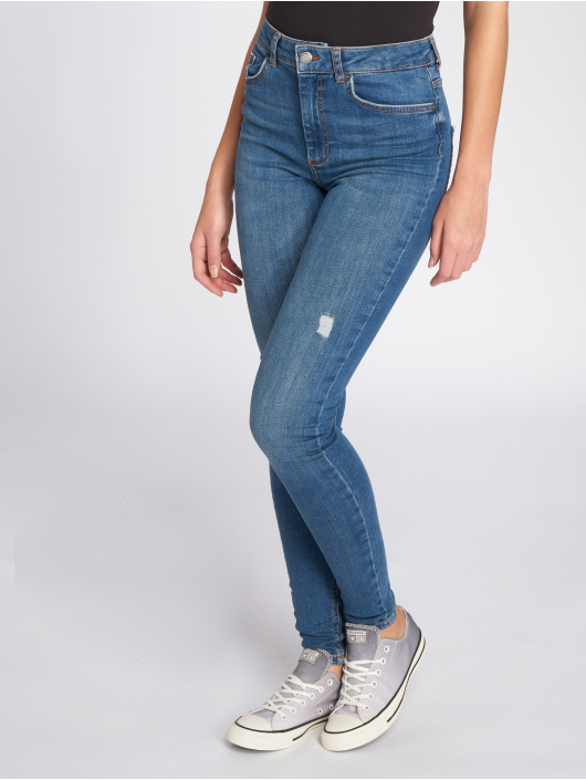 Pieces Jean skinny PcHighfive Delly B184 bleu