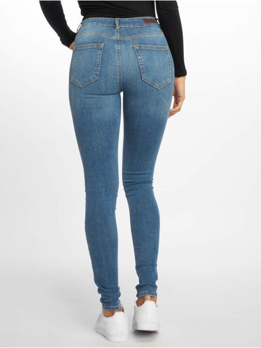 Pieces Jean skinny pcDelly B181 Mw bleu