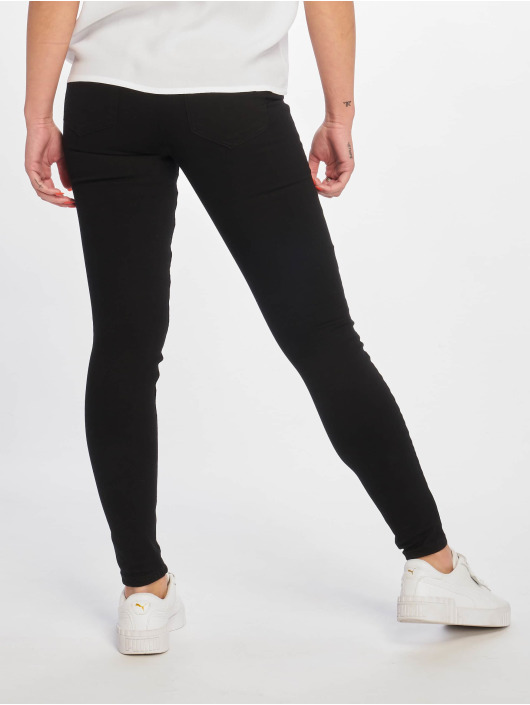Pieces Jean skinny pcDelly Dlx B247 Stay Mw noir
