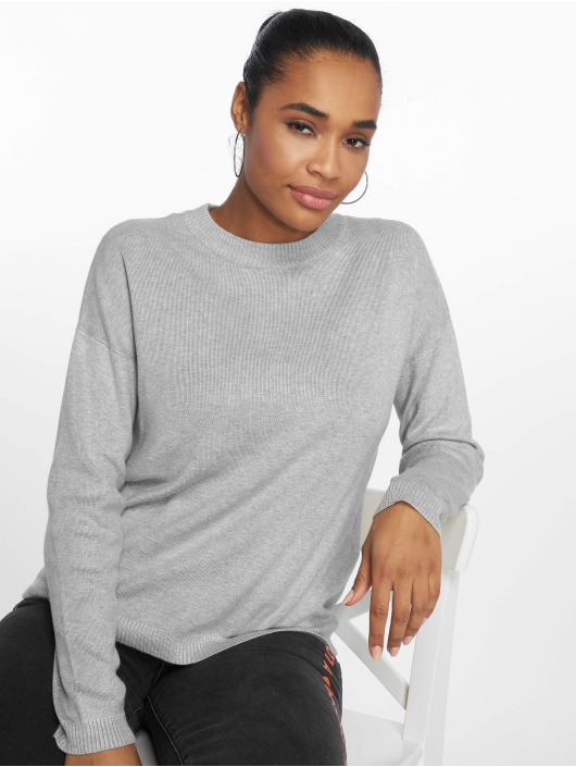 Pieces Jumper pcLisa Knit grey
