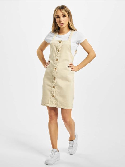 Pieces Kleid pcAsli Colored Pinafore beige