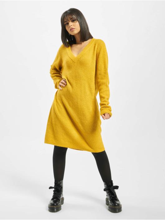 Pieces Kleid pcEllen gelb