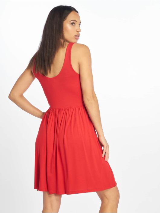 Pieces Kleid pcLorena rot
