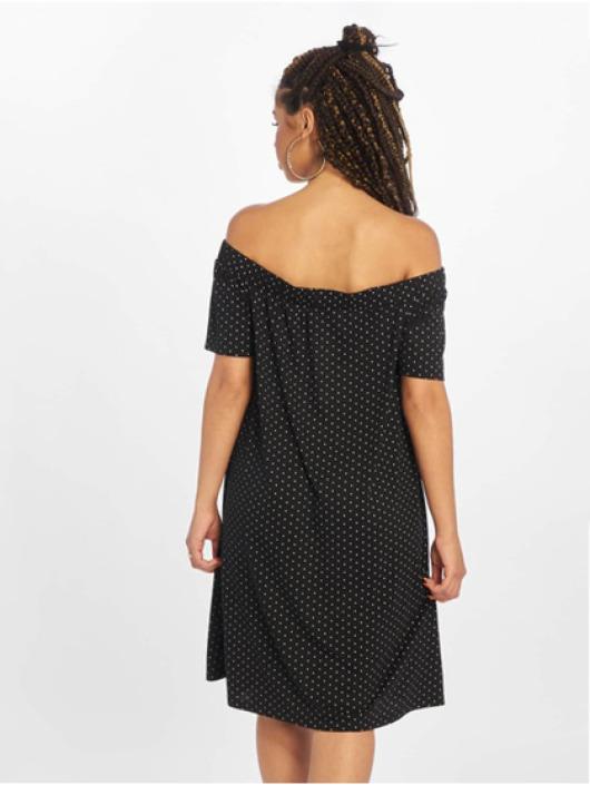 Pieces Kleid pcCayanna Off-Shoulder schwarz